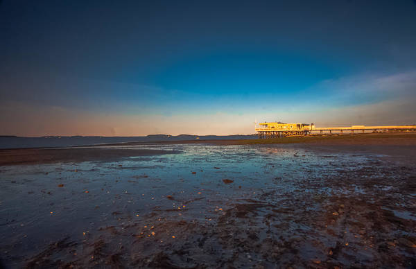 Photograph - Orange Sky Sunrise On The Beach by Brian MacLean