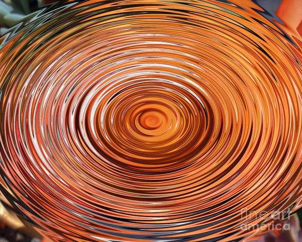 Whirlwind Digital Art - Orange Sunlight. Digital Art by Sofia Metal Queen