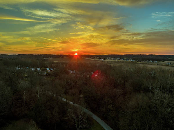 Photograph - Orange Sunrise by Nick Smith