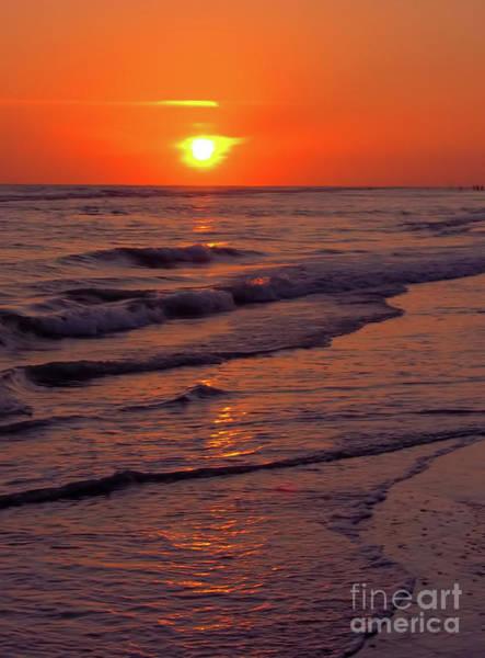 Orange Sunset Art Print