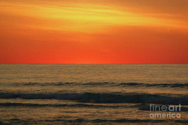 Photograph - Orange Sunset On The Jersey Shore by Jeff Breiman