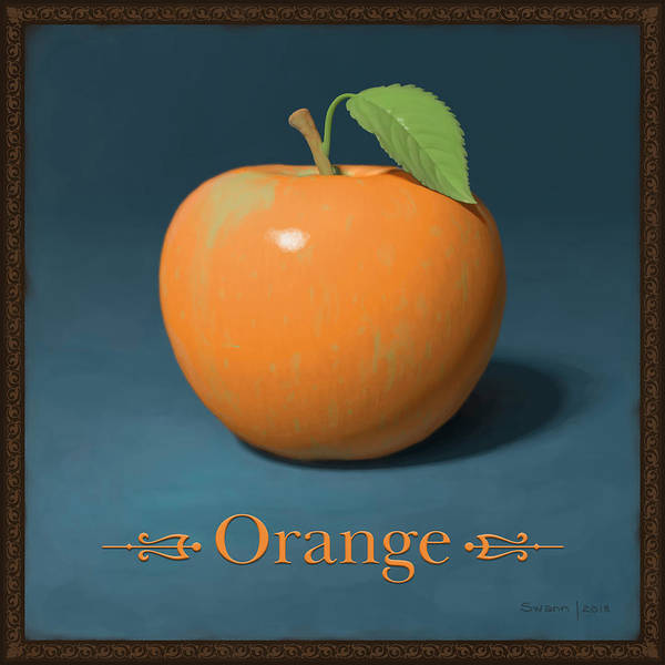 Painting - Orange by Swann Smith