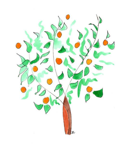 Painting - Orange Tree by Anna Elkins