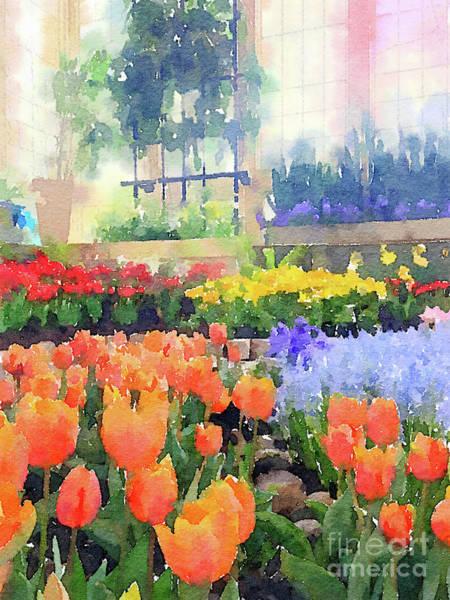 Photograph - Orange Tulips 2 by Chris Scroggins