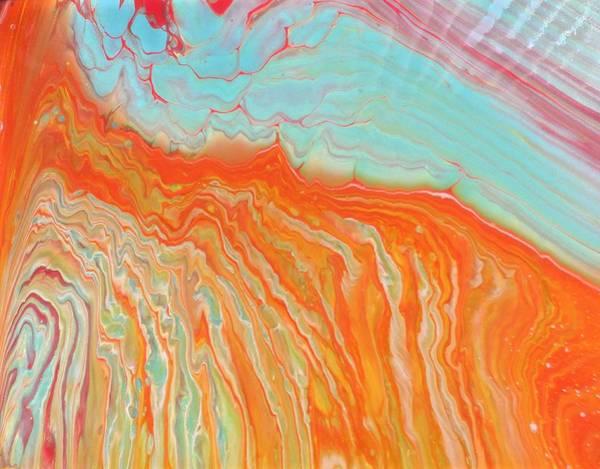 Mixed Media - Tangerine Beach by Darin Black