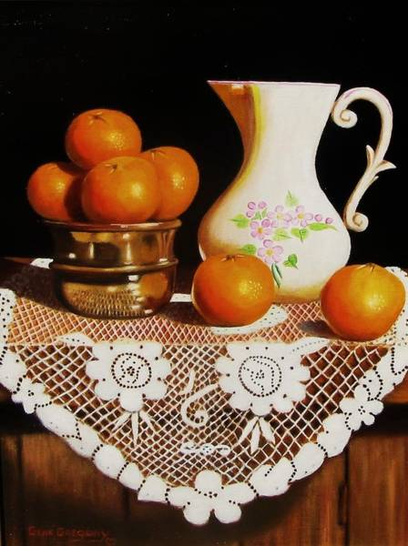 Painting - Orange You Sweet  by Gene Gregory