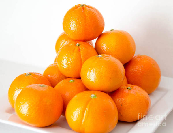 Photograph - Oranges 2 by Andrea Anderegg