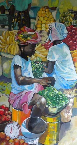 Caribbean Wall Art - Painting - Oranges by Jan Farara