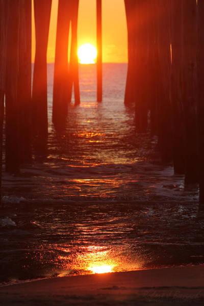 Photograph - Orb On The Ocean by Robert Banach