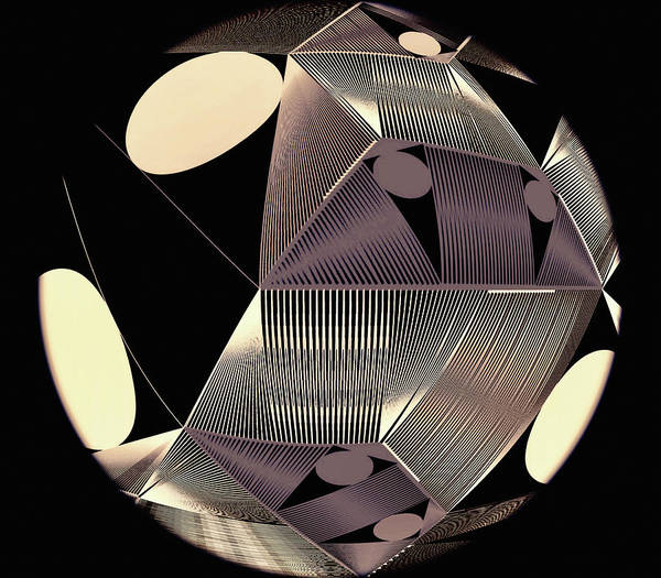 Digital Art - Orb by Susan Maxwell Schmidt