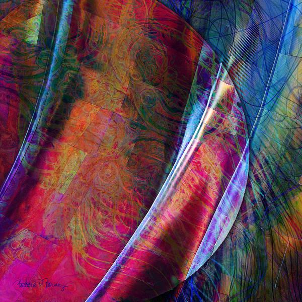 Digital Art - Orbit II by Barbara Berney