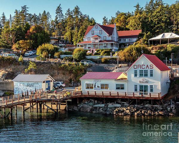 Photograph - Orcas Island by Rod Best