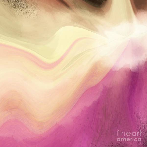 Digital Art - Orchid Abstract Design by Sheila Wenzel