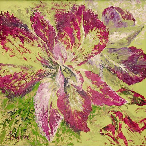 Orchid Art Print by Aneta  Berghane