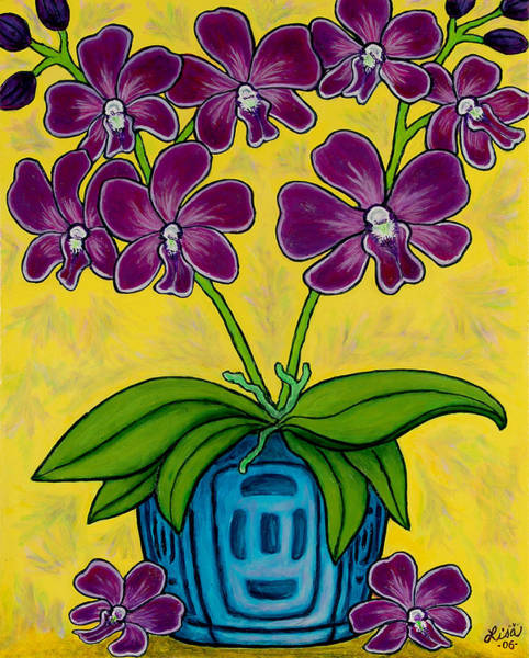 Painting - Orchid Delight by Lisa  Lorenz