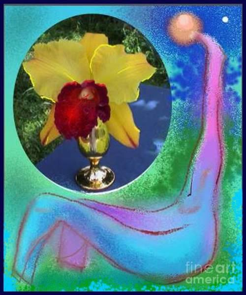 Orchid Keeper Art Print