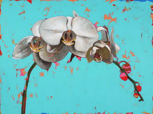 Wall Art - Painting - Orchids #5 by David Palmer