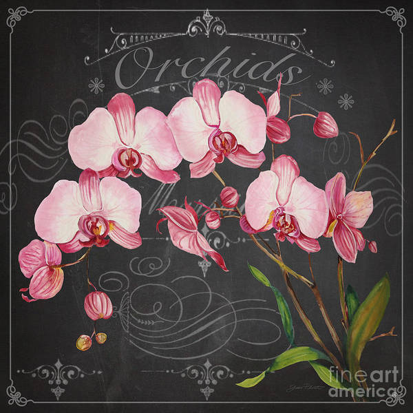Wall Art - Painting - Orchids-jp3890 by Jean Plout