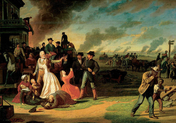 Painting - Order No. 11 by George Caleb Bingham