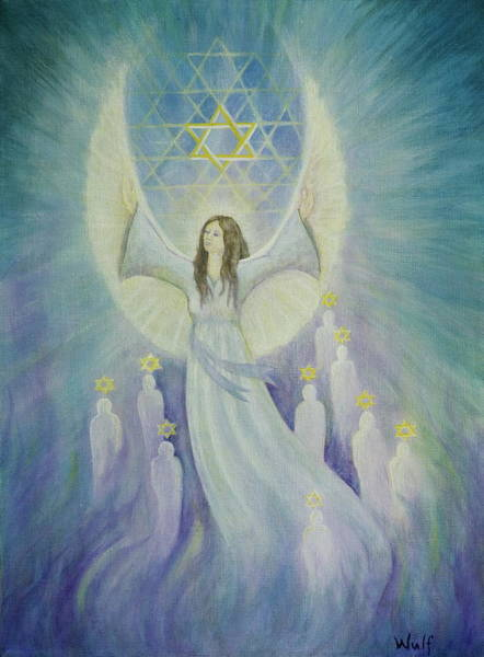Painting - Order Of Melchizedek  by Bernadette Wulf