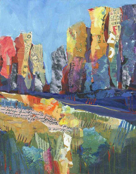 Painting - Oregon Canyon by Shelli Walters