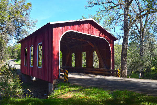 Photograph - Oregon City Covered Bridge by Frank Wilson