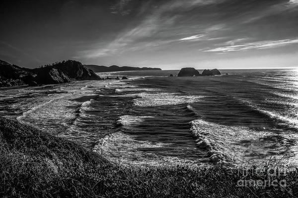 Photograph - Oregon Coast At Sunset by Jon Burch Photography
