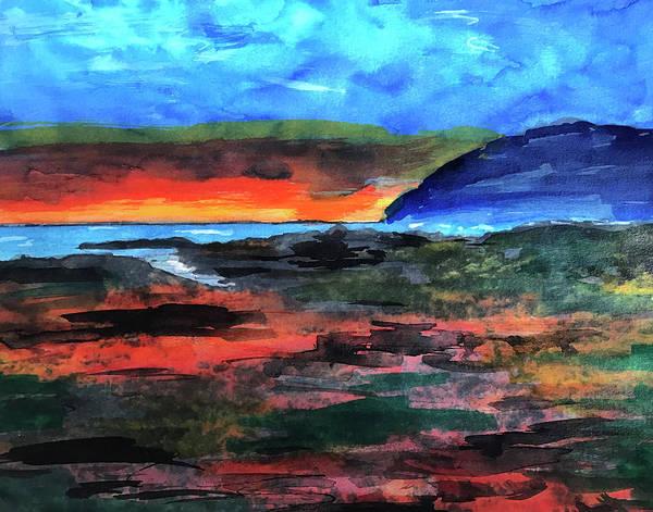 Oregon Coast Mixed Media - Oregon Coast by Lisa McKinney Kreymborg