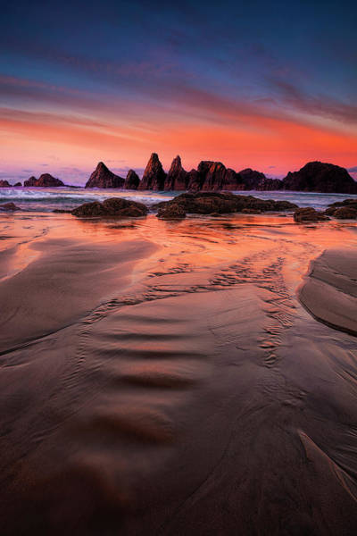 Wall Art - Photograph - Oregon Coastal   Sunrise by Andrew Soundarajan