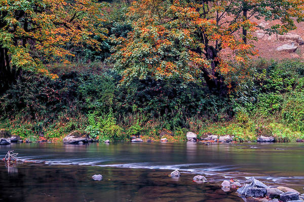 Photograph - Oregon Fall by Bill Posner