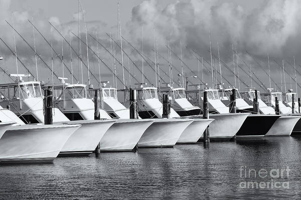 Photograph - Oregon Inlet Fishing Center Fleet II by Clarence Holmes