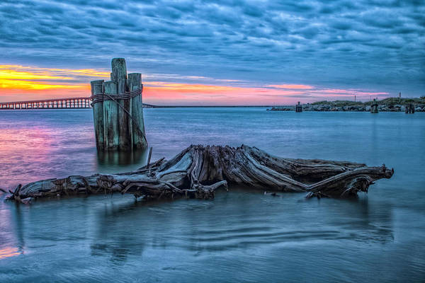 Oregon Inlet II Art Print