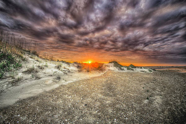 Photograph - Oregon Inlet Sunset by Pete Federico
