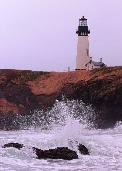 Photograph - Oregon Lighthouse by Norman Hall
