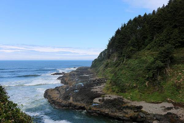 Photograph - Oregon Ocean View - 3 by Christy Pooschke