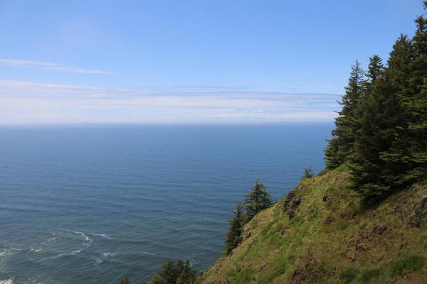 Photograph - Oregon Ocean View - 4 by Christy Pooschke