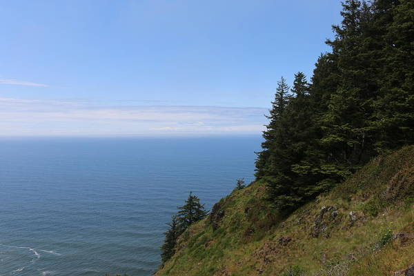 Photograph - Oregon Ocean View - 5 by Christy Pooschke