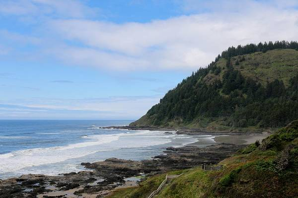 Photograph - Oregon Ocean View - 6 by Christy Pooschke