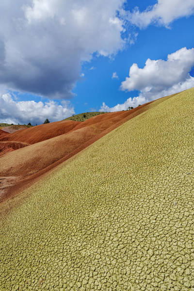 Wall Art - Photograph - Oregon Painted Hills Textured Soil Layers by John Trax