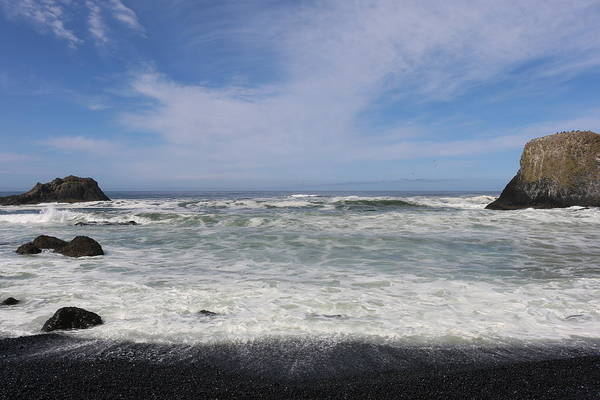 Photograph - Oregon Shore - 3 by Christy Pooschke