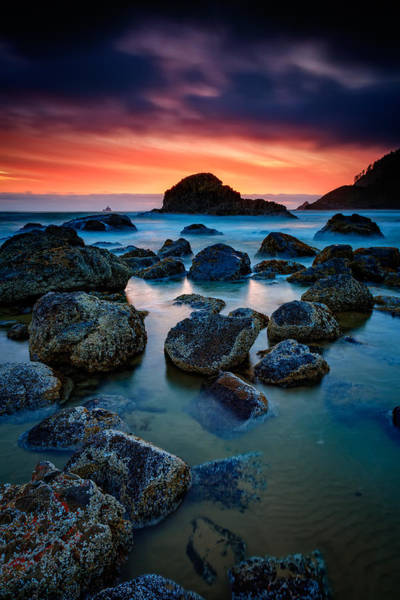 Photograph - Oregon Sunset by Rick Berk
