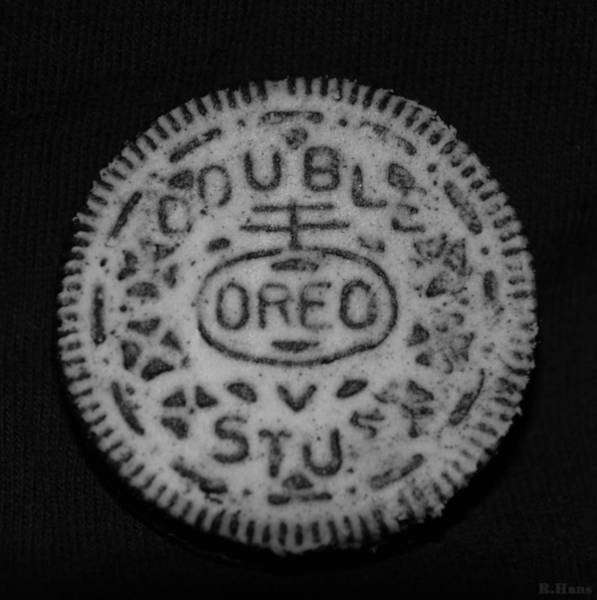 Nabisco Photograph - Oreo In Matte Finish by Rob Hans