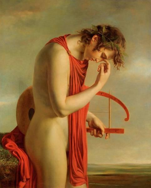 Painting - Orfeo by Hughes Francois Paul Duqueylard