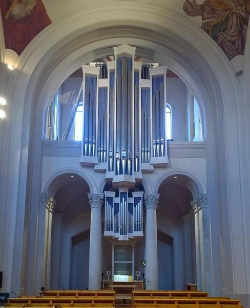 Wall Art - Photograph - Organ In The Arch by Gayle Miller