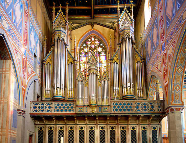 Photograph - Organ Jewel by Jenny Setchell