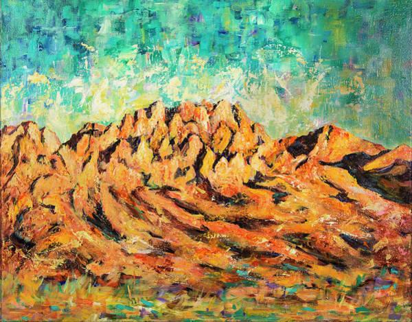 Organ Mountains IIi Art Print