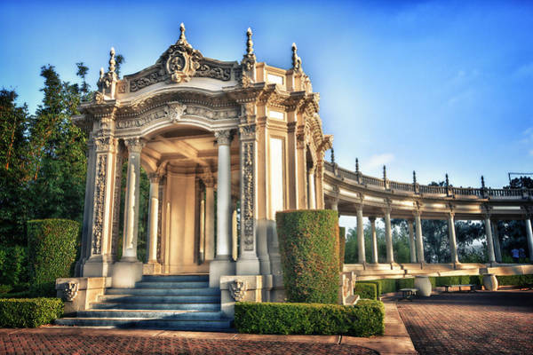 Ornate Photograph - Organ Pavillion At Balboa Park by Larry Marshall