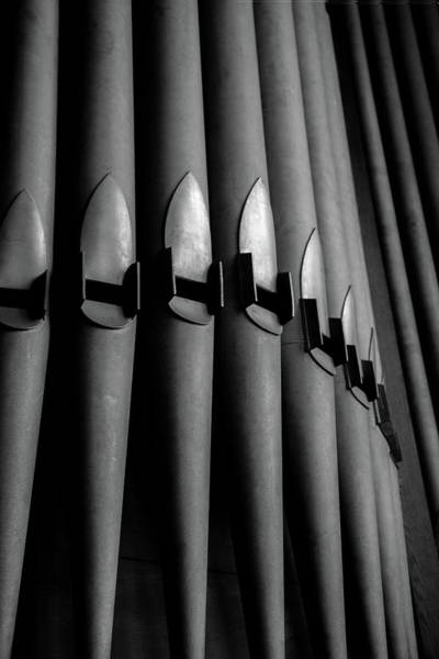 Wall Art - Photograph - Organ Pipes by W Chris Fooshee