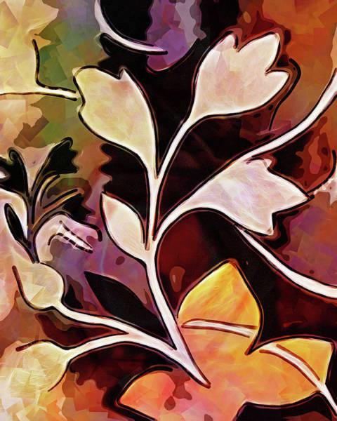 Digital Art - Organic Autumn by Lutz Baar