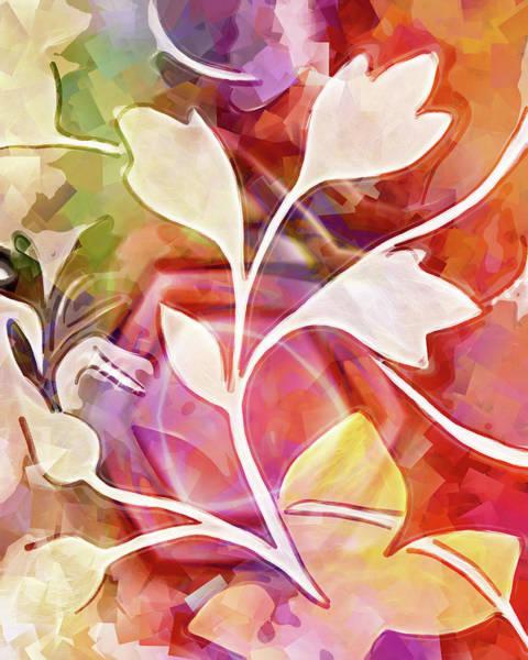 Digital Art - Organic Colors by Lutz Baar